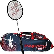 Yonex Badminton Racquet Prokick Kitbag Combo (1 Yonex ZR 100 Racquet + 1 Prokick Badminton Kitbag)
