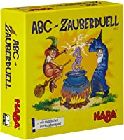Haba 4912 - ABC Zauberduell, Lernspiel ab 6 Jahren zum Buchstabenlernen, perfektes Geschenk für Schulanfänger zur...