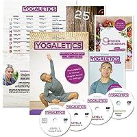 YOGALETICS: Premium Edition. Das 9-Wochen-Workout speziell für Anfänger. Mehr Kraft, Ausdauer und Beweglichkeit durch Yoga-Fitness. Effektives Bodyweight-Training ohne Geräte für Männer und Frauen