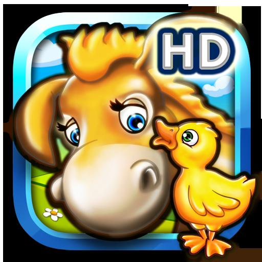 Tier Puzzle Bauernhof für Kinder und Kindergartenkinder HD gratis mit bunten Farm Tieren für Jungen und Mädchen mit Tiere Puzzles wie Pferd Kuh Ziege und Schaf und Haustier Puzzle Spiele Hund und Katze -