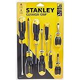 STANLEY 0-65-011 Cacciaviti Cushion Grip, Std - Ph, Set di 8 pz