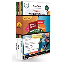 Educart CBSE Term 1 Sample Papers Class 10 Bundle of Science, Math Standard, Social Science & English Books For 2022…