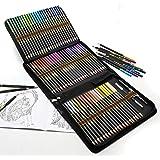 Lápices de Colores para Dibujo Profesional, 72 Colores Lapices de Dibujo para Adultos y Niños, Ideal para Colorear, Mandalas