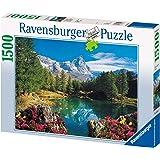 Ravensburger 16341 - Bergsee mit Matterhorn - 1500 Teile Puzzle