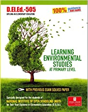 NIOS DELED-505 Learning Environmental Studies At Primary Level