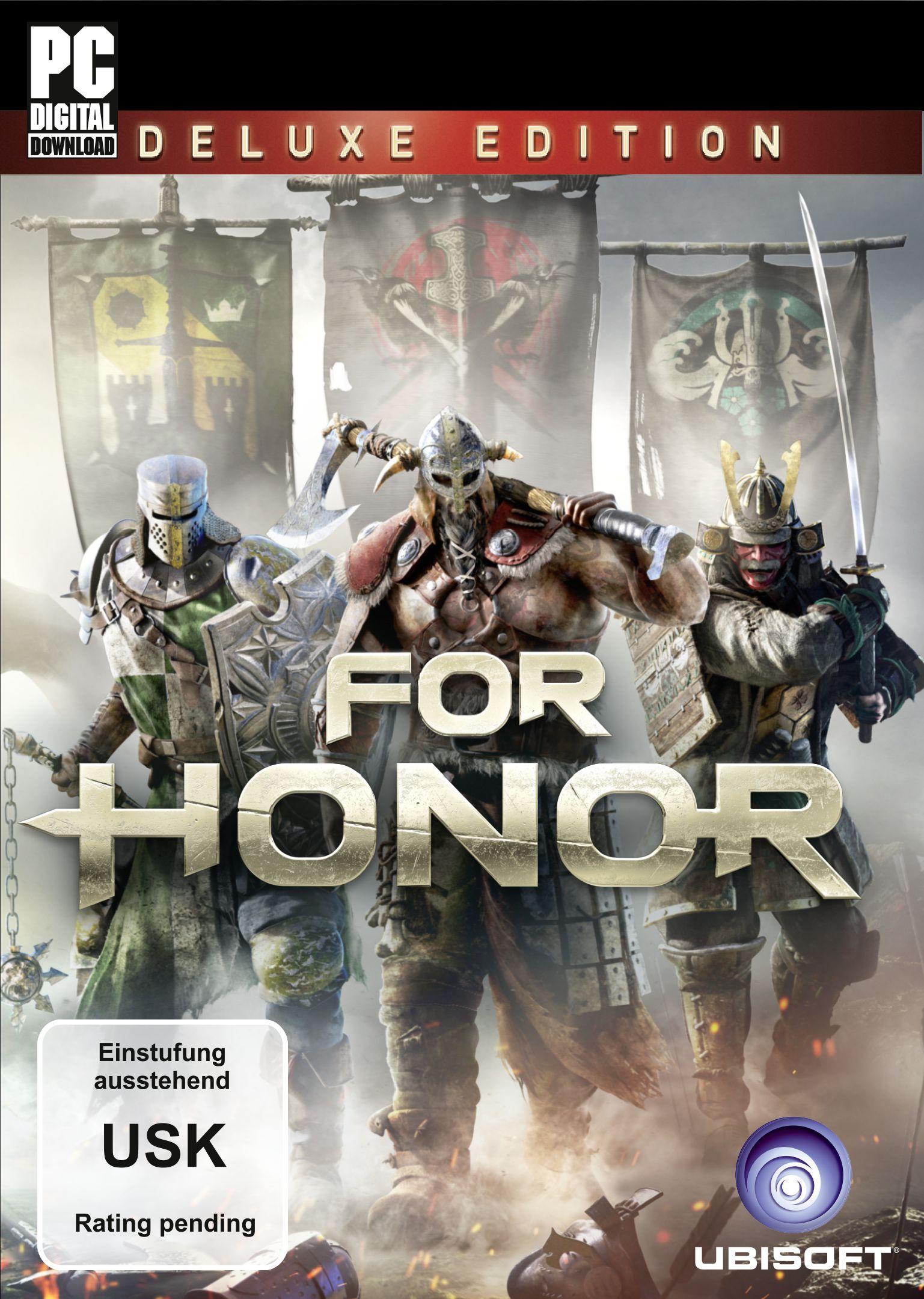 Preisvergleich Produktbild For Honor - Deluxe Edition [PC Code - Uplay]