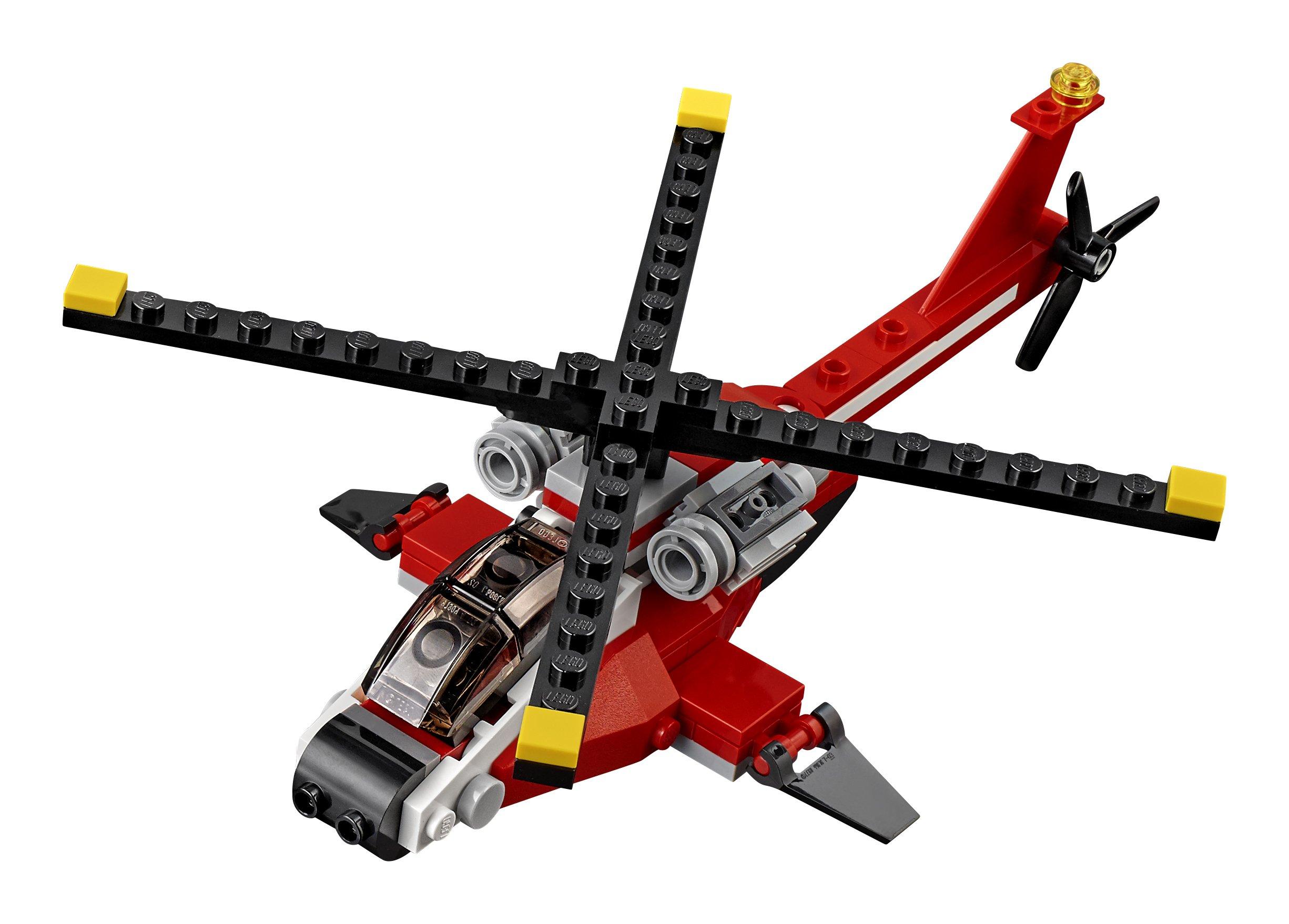 LEGO- Creator Elicottero di Soccorso Costruzioni Piccole Gioco Bambina Giocattolo, Multicolore, 31057 2 spesavip