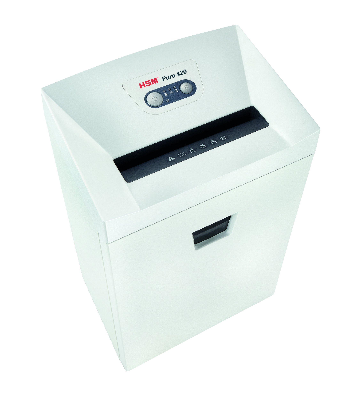 HSM Pure 420 Déchiqueteur Blanc