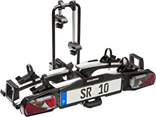 Bullwing SR10 Kupllungsträger Fahrradträger für Anhängekupplung 2 Fahrräder großer Abklappwinkel VW T5 T6 Mercedes Vito Bus