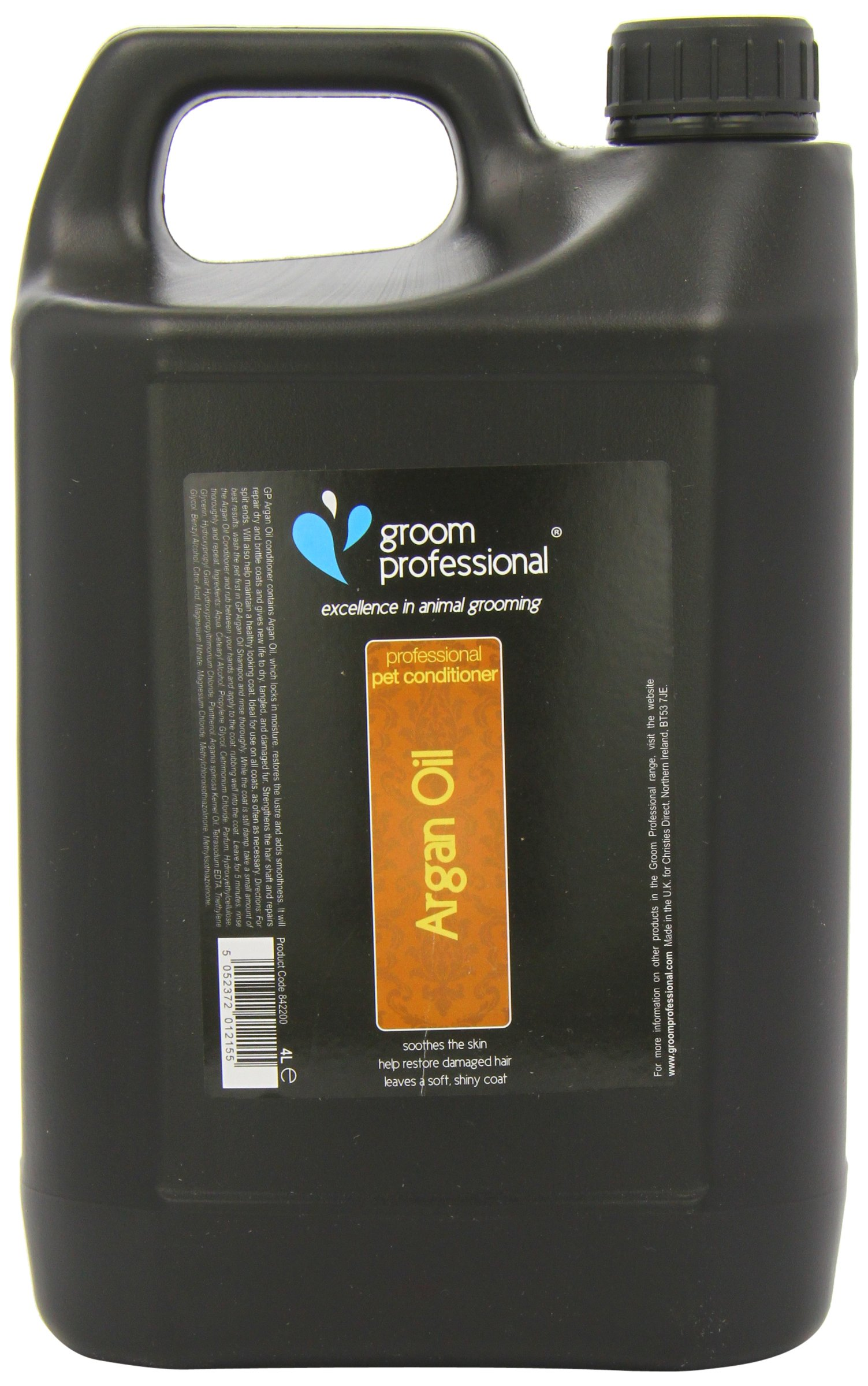 GROOM PROFESSIONAL Argan Oil Conditioner 4 Litre