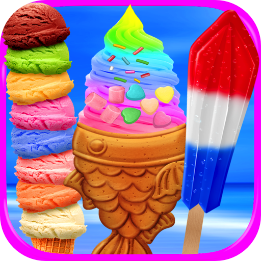 Crazy Cones Ice Cream - Kids Ice Cream Scoops, Sundaes & Frozen Ice Popsicles FREE