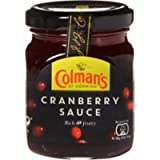 Colman's Cranberry Sauce, The Nations Favourite, Delicious, Perfect Tatse For Sandwiches, Barbecue, Cooking, Lunch And…