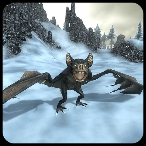 giant-bat-simulation-3d