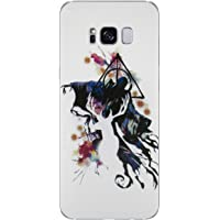 EJC Avenue Samsung Coque en Silicone Harry Potter Cases, Reaper, Samsung Galaxy S8 Plus (G955)