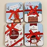 Elche Geschenkumschlag Geldgeschenk Geschenkumschlag Weihnachten Wunscherf/üller Weihnachtsgeschenk Weihnachtsgeschenke Weihnachtsumschl/äge Blau Rot
