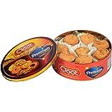 Qoot Premium Rich Coconut Handmade Healthy & Tasty Cookies, 400 Grams