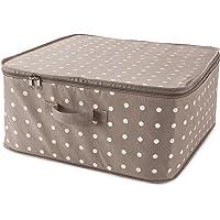 Compactor Rivoli Housse de rangement vêtements, Marron, 46 x 46 x H 20,5 cm, RAN4540_BROWN