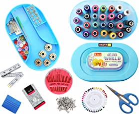 Creative Via Plastic Multipurpose Sewing Kit with Accessories- SW03