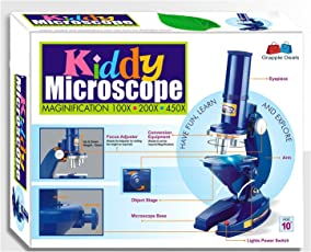 GRAPPLE DEALS Kiddy Microscope Magnification Learning And Educational Toys For Kids.