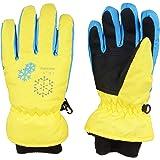 TRIWONDER Ski Gloves Snowboard Gloves Windproof Winter Warm Gloves Thermal Fleece Water Repellent Snow Gloves for Kids Boys G