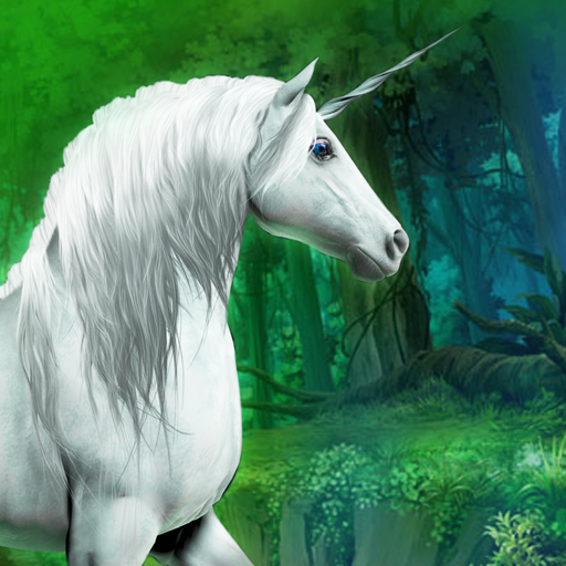 magische Einhorn-Rennen in den Wald der Feen - Gratis-Edition