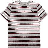 Tommy Hilfiger Global Stripe Pique tee S/S Camiseta para Niños