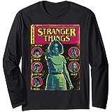 Netflix Stranger Things Group Shot Comic Cover Manche Longue