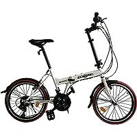 Ecosmo 50,8 cm NEUF pliante City Vélo 21sp – 20 F03 W