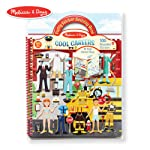 Melissa & Doug Puffy Sticker Play Set, Careers (Reusable Activity Book,100 Stickers, Great for Travel)