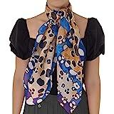 Silk of Como Foulard seta per donna e uomo made in italy 100% - taglie disponibili per tutte le stagioni - Scialle Elegante P