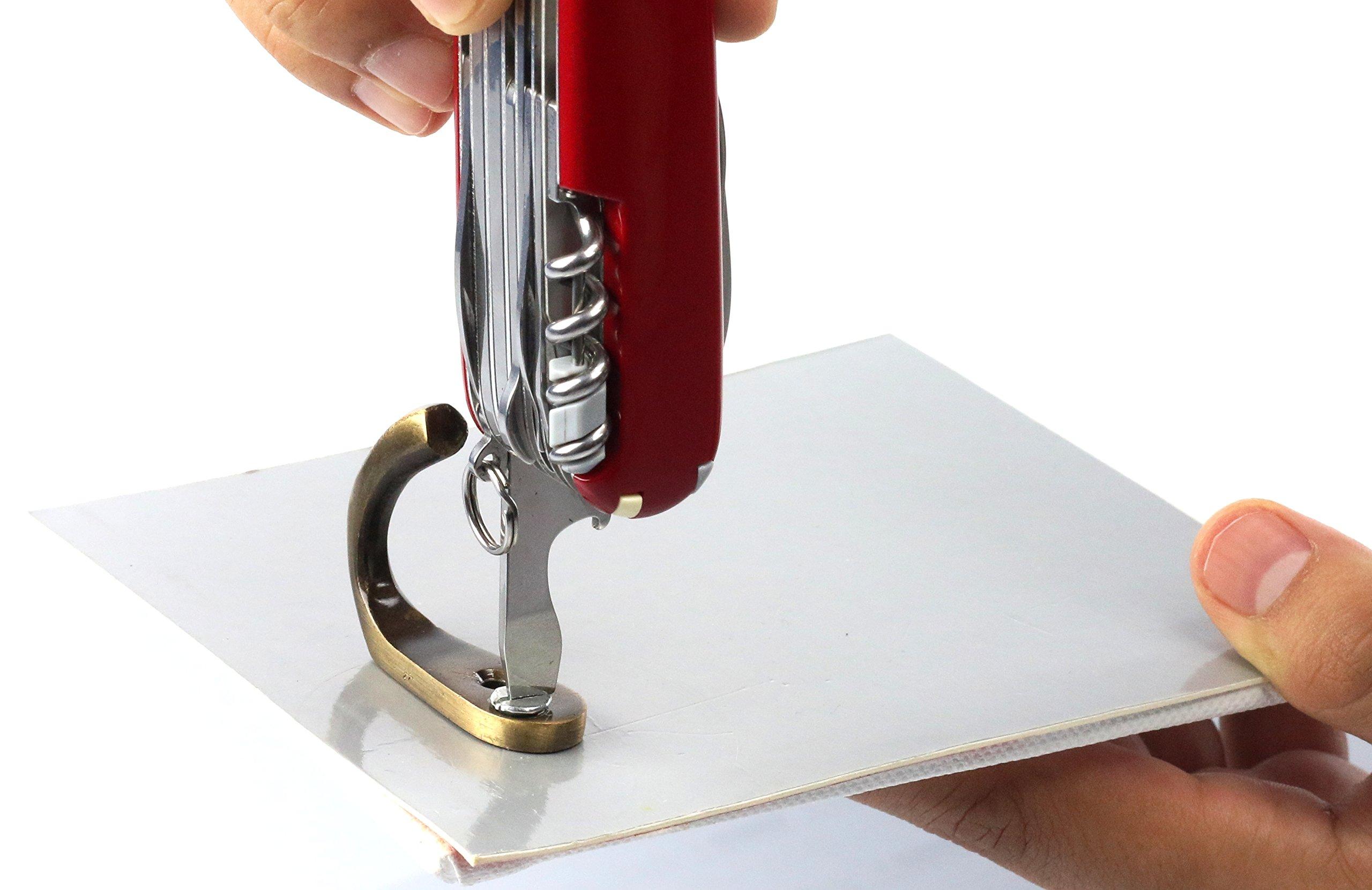 Victorinox Taschenwerkzeug Offiziersmesser Swiss Champ Rot Swisschamp Officer's Knife, Red, 91mm 15