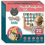 Wolff kids Planer tygodniowy dla dzieci, zadania gospodarstwa domowego, tablica nagrodowa dla dzieci, system nagród dla dziec