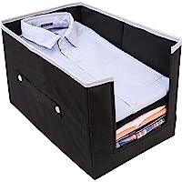 Cotanza Shirt Organizer for Wardrobe Shirt Stacker Cloth Organiser, Foldable Shirt Stacker Front Opening Shelf Organizer…