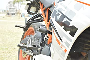 Evo Worx Frame Protectors KTM RC 200 / 390 (Frame Sliders)