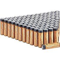 AmazonBasics Piles alcalines 1,5 V pour le quotidien - Lot de 100 (le visuel peut différer)