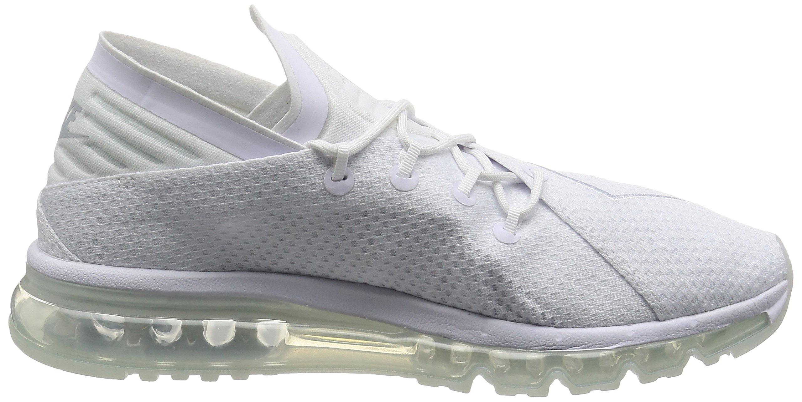 811Tkcp36EL - Nike Mens - Air Max Flair - Triple White - 942236-100