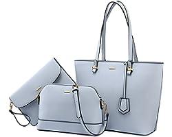 LOVEVOOK Handtasche Damen Shopper Schultertasche Umhängetasche Damen Gross Groß Damen Tasche Tote für Büro Schule Einkauf Rei