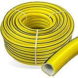 Stabilo-Sanitaer Premium Gartenschlauch Länge: 50m Durchmesser: 19mm 3/4 Zoll Wasserschlauch mit Trikotgewebe | knickfrei | verdrehungsfest