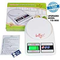 Bulfyss Electronic Kitchen Digital Weighing Scale 10 Kg - (1 Year Warranty)