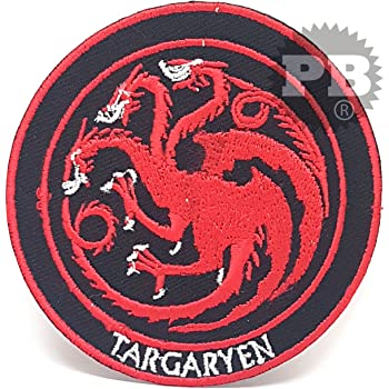 Game of Thrones House of Lannister Iron on Embroidered Patch