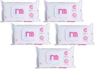 Mothercare Non Fragrances Wipes ( 60pcs x 5pkt) (Pink)