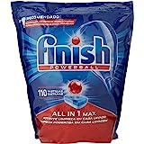 Finish All-in-1 Plus diskmaskinsgel vanliga 110 pastillor