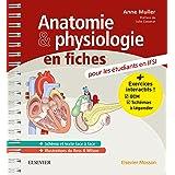 Anatomie et physiologie en fiches Pour les étudiants en IFSI: Avec un site Internet d'entraînements interactifs (Hors collect