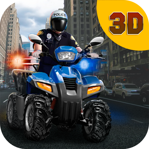 Police ATV Quad Bike Racing 3D: Offroad Challenge | Police Chase Robbers Quad Offroad Police Pursuit 4 Wheelers Games (4 Wheeler Spiele)