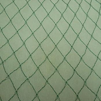 Vielseitiges Teichnetz 4m x 6m grün 17mm x 17mm Masche I Aquagart Laubschutznetz Teich Abdecknetz Vogelschutznetz Gartennetz Baumnetz Reiherschutz Beet-Netz Laubnetz Silonetz Schutznetz Teichabdeckung