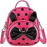 ShopyVid® Girls Cute Mini Polka Dot Stylish Backpack for Girls