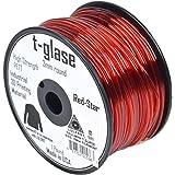 AlephObjectsInc. Bobine de filament Taulman en T-glase 3mm 450gNoir, Red, 12