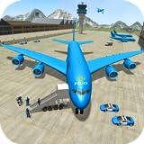 Stadtpolizei Flugzeug Pilot Flight Simulator