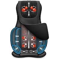 Snailax Coussin de chaise de massage complet du corps - Masseur Shiatsu du cou et du dos avec compresseur de chaleur et…