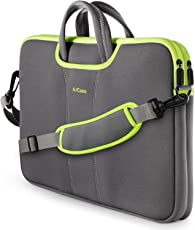 AirCase Neoprene Messenger Bag for Laptop, 13-14 inches (Grey, C15)